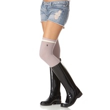 Lavender Fanfair Knee High Socks