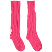 Hot Pink Hibernate Wool Blend Bed Socks