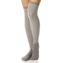 Grey Hippy Down Dilly Knee High Socks