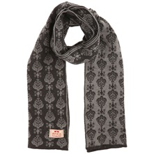 Charcoal/Grey Georgie Reversible Cotton Scarf