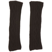 Black Hibernate Cashmere Blend Gloves