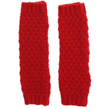 Red Moss Cashmere Blend Gloves