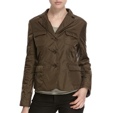Khaki Three Button Jacket