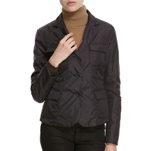 Black Three Button Jacket