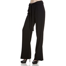 Black Wide Leg Trousers 34