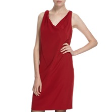 Scarlet Back Tie Dress