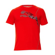 T-shirt CT Graphic S/S rouge
