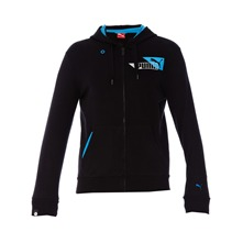 Veste SportsCasual Hooded noir