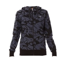 Veste Move Allover Graphic noir