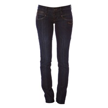 Alexa Stretch - Jean - slim bleu brut