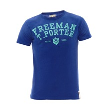T-shirt Tomer bleu