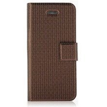 Etui en cuir marron pour iPhone 5