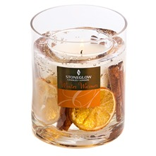 Cinnamon/Orange Winter Warmer Gel Candle