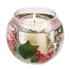 Cinnamon/Patchouli Fish Bowl Gel Candle