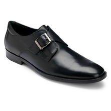 Black Leather OR Monk Strap Shoes
