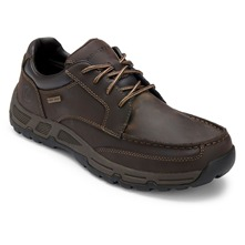 Brown Leather H Heights Shoes