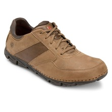 Brown Leather Lite Shoes