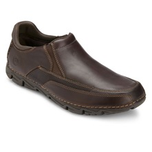 Dark Brown Leather Rocsport Lite Shoes