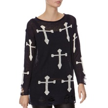 Navy Cross Jumper