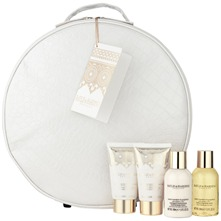 Pack of Four Sweet Mandarin/Grapefruit Fragrance/Vanity Bag