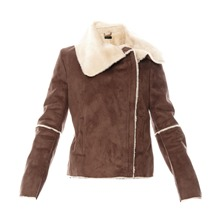 Veste marron fonc