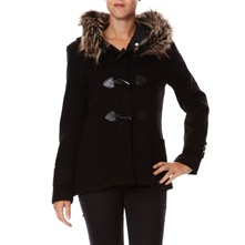 Manteau noir  capuche
