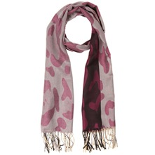 Purple/Silver/Black Pashmina