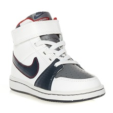 Chaussures Nike Backboard II mi-montante blanches