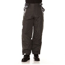 Pantalon de ski Xylos gris fonc et blanc