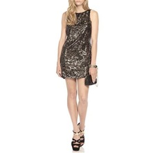 Pewter Dusk Till Dawn Sequin Dress