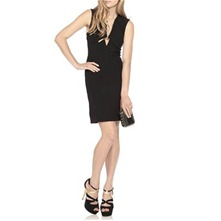Black Astoria Cut Out Dress