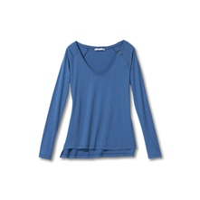 T-shirt bleu ptrole