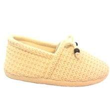 Cream Knitted Slippers