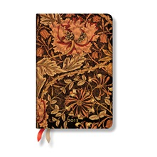 Agenda Morris Chvrefeuille 95*140 mm Mini verso