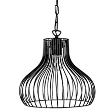 Black Linea Pendant Lamp