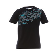 T-shirt Geo noir
