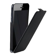 Etui finition cuir grain iPhone5