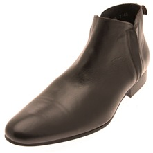 Men footwear: Brown Jouli Leather Ankle Boots