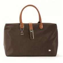 Sac shopping marron
