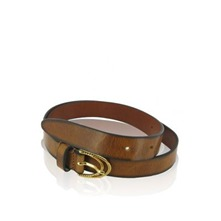 Ceinture Sadie  en cuir camel