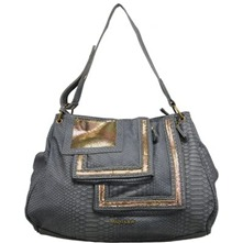 Sac seau Mary  gris