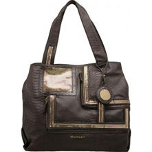 Sac shopping Vany  marron