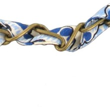Bracelet Cocktail  bronze et bleu