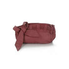 Pochette Las Vegas en cuir vieux rose