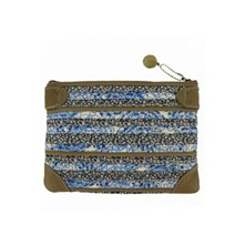 Pochette Anis bleue