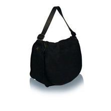 Sac Replay en cuir noir