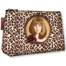 Trousse Amanda marron