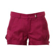 Short Barriaar fuschia et prune