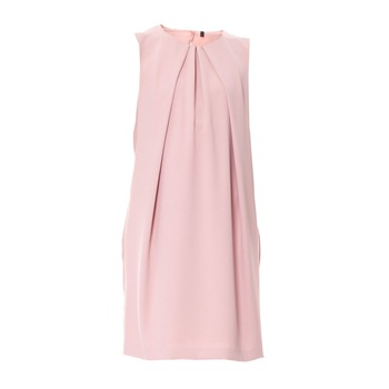 Benetton Robe sans manche rose