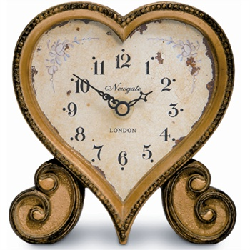 Newgate Newgate Heart clock